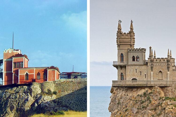 Как выглядели 7 легендарных строений до того, как к ним нагрянули толпы туристов