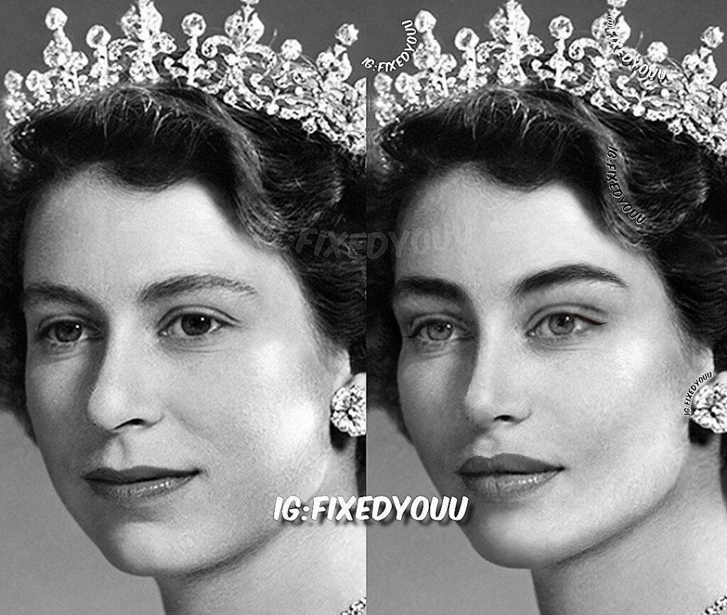Молодая королева Елизавета