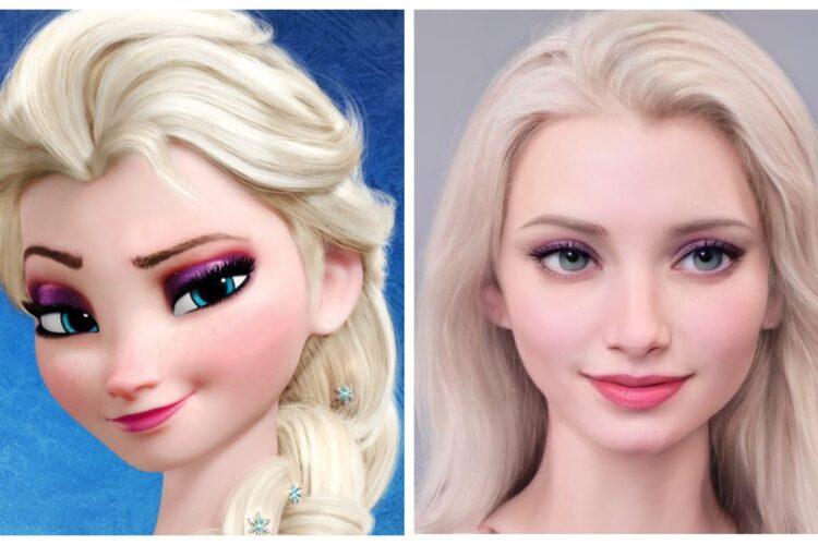 Как 11 диснеевских принцесс выглядели бы в реальной жизни
